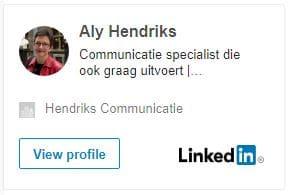 Neem contact op met Hendriks Communicatie om uw communicatieplan concreet te maken