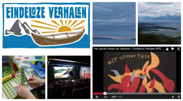 Eindeloze Verhalen vrij werk Hendriks Communicatie film naschools onderwijs Fotografie Aly Hendriks Logo Jan van Zomeren