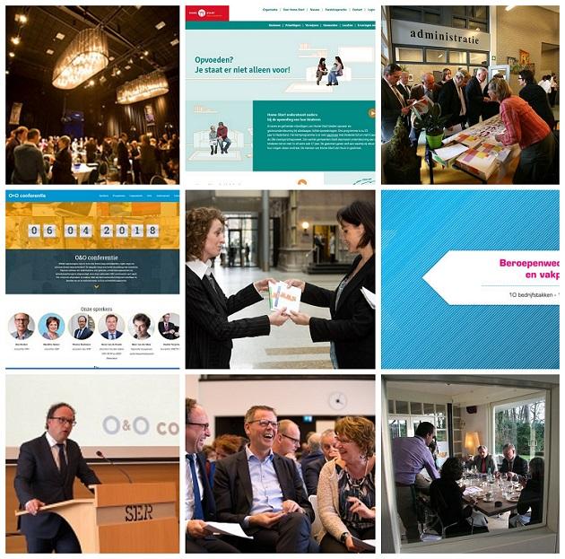 Hendriks Communicatie in beelden. Projecten teksten sprekers evenementen drukwerk. Fotocredits Dirk Hol, Aly Hendriks, Henk Merjenburgh, Eric Polman
